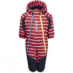Kozi Kidz Kids Snowflake Baby Snow Suit Red Stripe