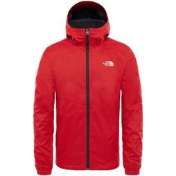 The North Face Men's Quest Jacket Rage Red Black Heather