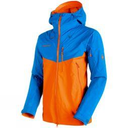 Mammut Mens Nordwand Pro HS Hooded Gore-Tex Pro Jacket Sunrise- Ice