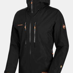 Mammut Mens Nordwand Advanced Hardshell Hooded Jacket Black