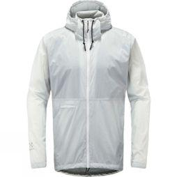 Haglofs Mens Särna Shield Hood Jacket Stone Grey