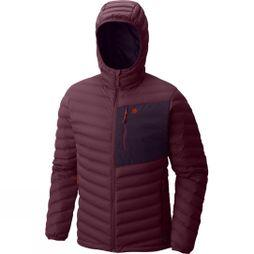 Mens StretchDown Hooded Jacket