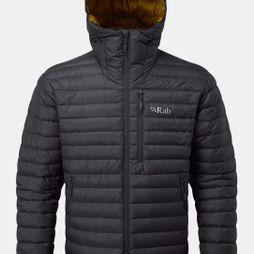 Rab Mens Microlight Alpine Jacket 2018 Beluga/Dijon