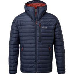 Rab Mens Microlight Alpine Jacket 2018 Deep Ink/Red Clay