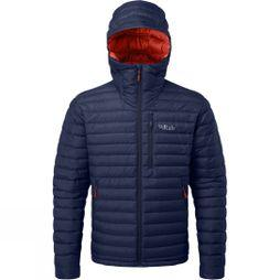 Rab Mens Microlight Alpine Jacket Deep Ink/Red Clay
