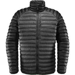 Haglofs Mens Essens Mimic Jacket Magnetite/ True Black