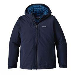 Patagonia Mens Windsweep Down Hoody Navy Blue