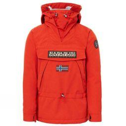 Napapijri Mens Skidoo Anorak Orange Red
