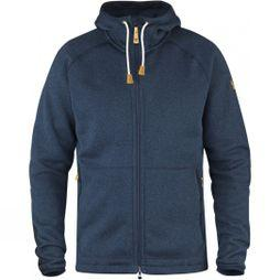 Fjallraven Men's Ovik Fleece Hoodie Navy