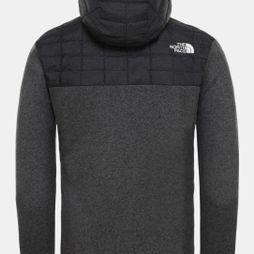 The North Face Mens Thermoball Gordon Lyons Hoodie TNF Black/Graphite Grey/TNF Dark Grey heather