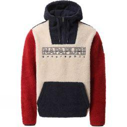 Napapijri Men's Teide 2 Fleece Natural Peyote