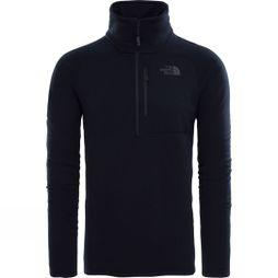 The North Face Mens Flux 2 Power Stretch 1/4 Zip TNF Black