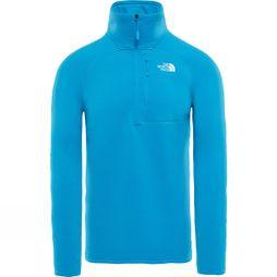 The North Face Mens Flux 2 Power Stretch 1/4 Zip Hyper Blue