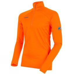 Mammut Mens Moench Advanced ML Half Zip Longsleeve Fleece Sunrise