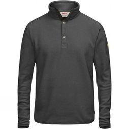 Fjallraven Mens Övik Fleece Sweater Dark Grey