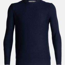 Icebreaker Mens Waypoint Crew Sweater Midnight Navy (AW19)