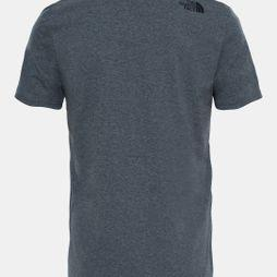 The North Face Men's Short Sleeve Mountain Line Tee TNF Mid Grey Heather (Std)