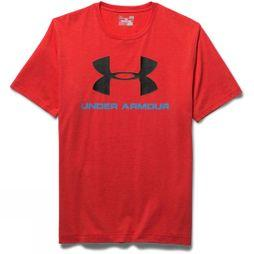 Men's Charger Cotton Sportstyle Front Logo Tee