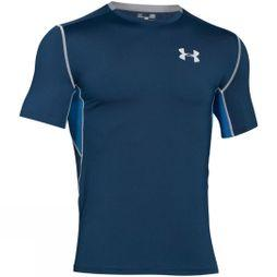 Under Armour Men's Cool Switch Run Short Sleeve T-Shirt Blackout Navy/Squadron/Reflective