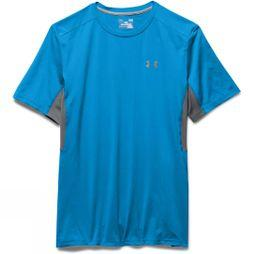 Under Armour Men's Cool Switch Run Short Sleeve T-Shirt Electric Blue/Graphite/Reflective