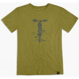 United By Blue Mens Bike Summit T-Shirt Olive