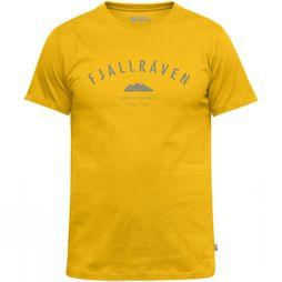 Fjallraven Mens Trekking Equipment T-Shirt Warm Yellow