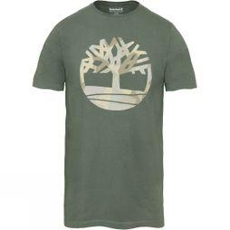 Mens Kennebec River Seasonal Pattern Brand Slim T-Shirt