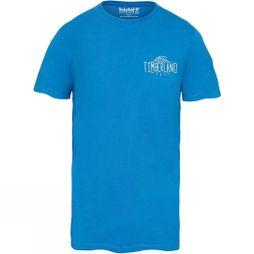 Timberland Mens Kennebec River Back Graphic T-Shirt Turkish Sea