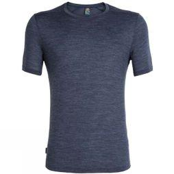 Icebreaker Mens Sphere Short Sleeve Crewe T-Shirt Midnight Navy Heather