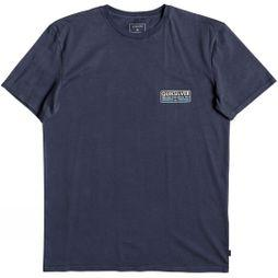 Quiksilver Mens Paddle Forwards Short Sleeve T-Shirt Blue Nights