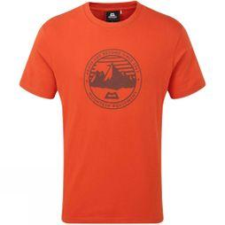 Mountain Equipment Mens Roundel Short Sleeve T-Shirt Paprika