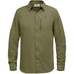 Fjallraven Mens Abisko Hike Shirt Long Sleeve Savanna