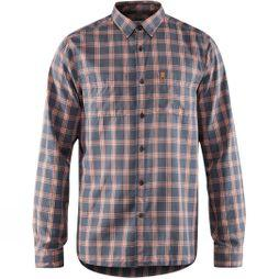 Fjallraven Mens High Coast Long Sleeve Shirt  Navy
