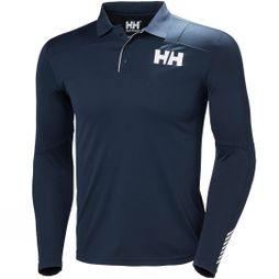 Mens HH Lifa Active Light LS Polo Top