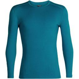 Icebreaker Mens 260 Tech Long Sleeve Crew Top Alpine