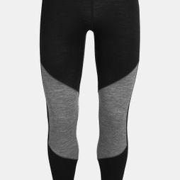 Icebreaker Mens 200 Oasis Deluxe Legging Black/Gritstone Heather