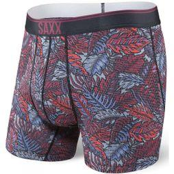 Saxx Quest 2.0 Boxer Red Tropics