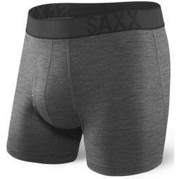 Saxx Mens Blacksheep Boxer Brief Charcoal Heather