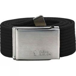 Fjallraven Mens Canvas Belt Black
