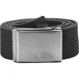 Fjallraven Mens Canvas Belt Dark Grey