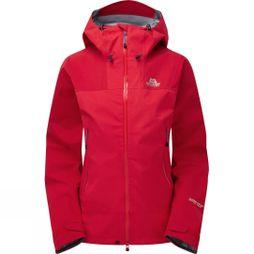 Mountain Equipment Womens Rupal Jacket Imperial Red/Crimson