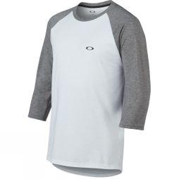 Oakley Mens Link 3/4 Sleeve Tee White