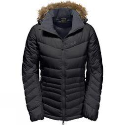 Jack Wolfskin Womens Selenium Bay Jacket Black/Ebony