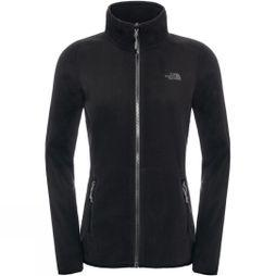 The North Face Women's 100 Glacier Full Zip TNF Black