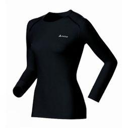 Odlo Women's Original Warm Long Sleeve Crew Black