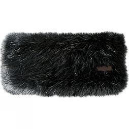 Barts Faux Fur Headband Black