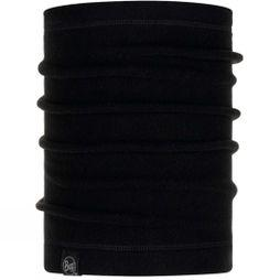 Buff Polar Neckwarmer Solid Black