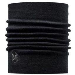 Buff Merino Thermal Neckwarmer Black