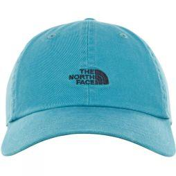 The North Face Mens Washed Norm Hat Storm Blue Wash