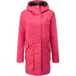 Hunter Womens Original Cotton Hunting Coat Bright Pink